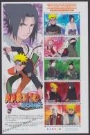 Japan - Japon 2009 Yvert 4890-99, Animation Films, Heroes & Heroines (XI) Naruto - MNH - 1989-... Kaiser Akihito (Heisei Era)