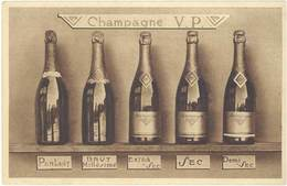 Cpa Pub Champagne V.P. Pommery Et Greno, Reims - Publicité