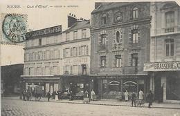76, Seine Maritime, ROUEN, Quai D'Elbeuf, Scan Recto Verso - Rouen