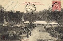 1909- C P A Du Congo Français Affr. 10 C Oblit.  OUESSO / CONGO FRANCAIS - Covers & Documents