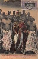 CPA - Afrique Occidentale - Dahomey - Porto-Novo - Adjiki, Roi De Porto-Novo Et Ses Ministres - Dahomey