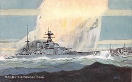 HM Battle Cruiser Hood - Guerra