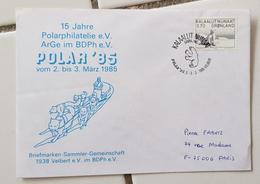 """GROENLAND Theme Polaire. 15 Eme Exposition Philatelique Polaire """"POLAR 85 Mars 18 - Events & Commemorations"""