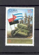 Cuba 1998 Victory At Cuito Cuanavale, Angola, 10th Anniversary. MNH. Scott 3911. Value $0.65 - Cuba