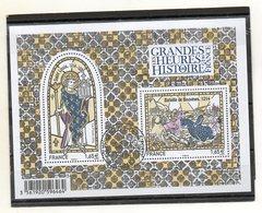 FRANCE   Feuillet 2 Timbre  1,65 €    2014   Y&T: F4857    Les Grandes Heures De L'Histoire De France    Oblitéré - Sheetlets