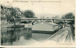 CPA -  PARIS -  LE PETIT BRAS EN AMONT DU PONT-NEUF (CLICHE DIFFERENT) - The River Seine And Its Banks