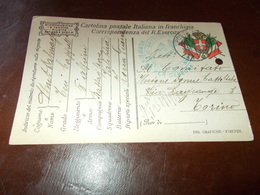 B726  Posta Militare Cartolina Postale In Franchigia Verificata X Censura - Militares