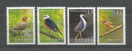 Taiwan 2009 Birds Y.T. 3185/3188 ** - 1945-... République De Chine