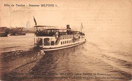 Ville De Tamise TEMSE Steamer Wilford I - Dampfer