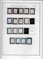 France Timbres Fictifs - Collection Vendue Page Par Page - Timbres Neufs ** Sans Charnière - TB - Fictifs