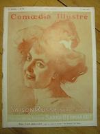COMOEDIA ILLUSTRE 1er MAI 1911 - MODE BALLETS RUSSES JEAN DULAC GUSTAVE SAMAZEUILH LE CHAPEAU EN 1911 - Livres, BD, Revues