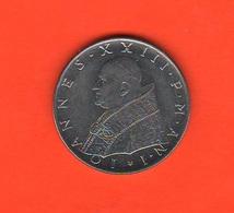 100 Lire 1959 Papa Giovanni XXXIII° Anno I° Pontificato - Vaticano