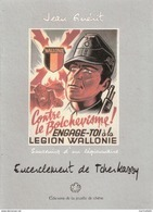 SOUVENIRS LEGIONNAIRE WALLONIE VOLONTAIRE BELGE ENCERCLEMENT TCHERKASSY J. GUERIT - 1939-45