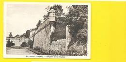 BLAYE Rare Les Remparts De La Citadelle (Gaby) Gironde (33) - Blaye
