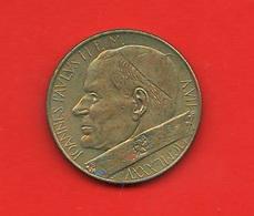 200 Lire 1959 Papa Giovanni Paolo II° 1985  Anno VII° Pontificato - Vaticano