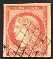 France Sc# 9b Used Forgery Stamp - 1849-1850 Ceres