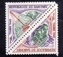 BENIN DAHOMEY 1967 POSTAGE DUE STAMPS TAXE TASSE 10f MNH - Benin – Dahomey (1960-...)