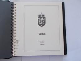 NORVEGE  -     Album LINDNER  Falzlos T - Contenant Feuilles De L'année 1985 A 1996 - Bindwerk Met Pagina's