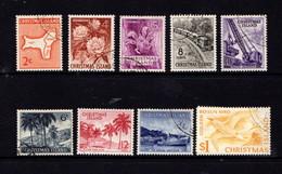CHRISTMAS  ISLAND   1963    Various  Designs    Set  Of  10       USED - Christmas Island