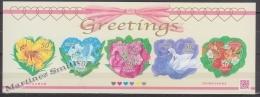 Japan - Japon 2011 Yvert 5339-43, Spring Greetings Stamps - MNH - 1989-... Keizer Akihito (Heisei-tijdperk)