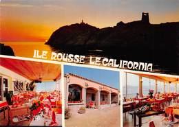 ILE ROUSSE - Restaurant Le California, Route Du Port - Propriétaire Pierre Olhagaray - Photo J.J. Filippi - Altri Comuni
