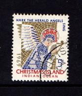 CHRISTMAS  ISLAND   1969    Christmas       USED - Christmas Island