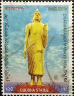 132.BANGLADESH USED STAMP BUDDHA STATUE . - Bangladesh