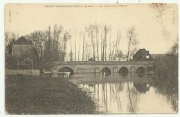 Cpa   EURE ET LOIR   PONT.TRANCHE.FETU (E.&.L.) .Le Pont.sur.l'Eure - Autres Communes