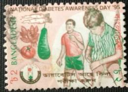 132.BANGLADESH 1995 USED STAMP NATIONAL DIABETES AWARENESS DAY . - Bangladesh