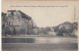MARCHE LES DAMES /  ANCIEN CHATEAU DETRUIT PAR L ARMEE BELGE EN 1914 - Namen