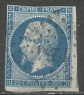 FRANCE - Oblitération Petits Chiffres LP 1254 FERE-EN-TARDENOIS (Aisne) - Marcofilie (losse Zegels)