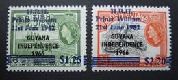 B2953 - Guyana - 1982 - MNH - Mich. 839-840 - Guyana (1966-...)