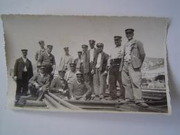 PHOTOGRAPHIE Ancienne : CHEMINOTS PLM / TRAIN / SNCF - Professions