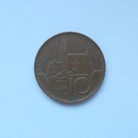 10 Kronen Münze Aus Tschechien Von 1995 (sehr Schön) - Tschechische Rep.
