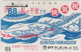 ZODIAC - JAPAN-189 - DRAGON - HOROSCOPE - Zodiaque