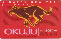 ZODIAC - JAPAN-192 - DOG - HOROSCOPE - Zodiaco