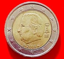 BELGIO - 2008 - Moneta - Effige Del Re Alberto II Del Belgio - Euro - 2.00 - Belgio