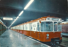 "4991"" MILANO-METROPOLITANA""-CART. POST. ORIG. SPED.1966 - Milano (Milan)"