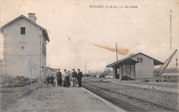 ¤¤  -   POUZAY    -   La Gare   -  Chemin De Fer   -  ¤¤ - Sonstige Gemeinden