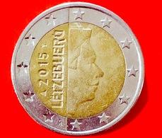 LUSSEMBRUGO - 2015 - Moneta - Ritratto Di Sua Altezza Reale Il Granduca Henri - Euro - 2.00 - Lussemburgo