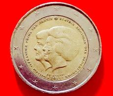 PAESI BASSI - 2013 - Moneta - Abdicazione Al Trono Della Regina Beatrice - Guglielmo Alessandro - Euro - 2.00 - Paesi Bassi