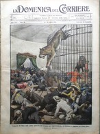La Domenica Del Corriere 19 Luglio 1914 WW1 Dolianova Messico Femminismo Tabacco - Guerra 1914-18