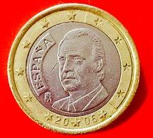 SPAGNA - 2006 - Moneta - Ritratto Di Re Juan Carlos I Di Borbone - Euro - 1.00 - Slovenia