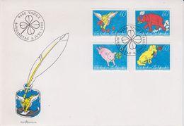 Liechtenstein 1994 Botschaften 4v FDC (43874) - FDC
