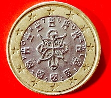 PORTOGALLO - 2003 - Moneta - Stemmi Araldici - Euro - 1.00 - Portogallo
