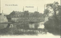 Pont De La Brouck    (2 Scans) - Trooz