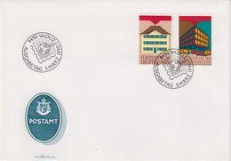 Europa Cept 1990 Liechtenstein 2v FDC (43875) - Europa-CEPT