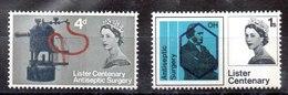Serie De Gran Bretaña Nº Yvert 405A/06A ** FOSFORO Valor Catálogo 4.85€ - Nuevos