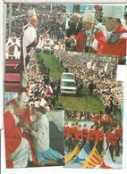 PAPA JUAN PABLO II POPE 28 TARJETAS POSTALES CARDS VISITAS DEL PAPA - Papas