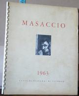 MONDOSORPRESA, CALENDARIO MASACCIO ANNO 1963, CASSA DI RISPARMI DI LIVORNO - Formato Grande : 1961-70